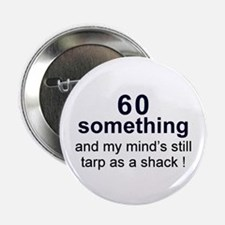 "60 Something 2.25"" Button (10 pack)"