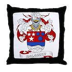 Balaguer Coat of Arms Throw Pillow