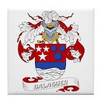 Balaguer Coat of Arms Tile Coaster