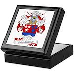 Balaguer Coat of Arms Keepsake Box