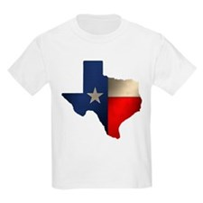 State of Texas Kids T-Shirt
