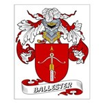 Ballester Coat of Arms Small Poster