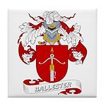 Ballester Coat of Arms Tile Coaster