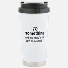 70 Something Travel Mug