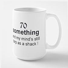 70 Something Ceramic Mugs