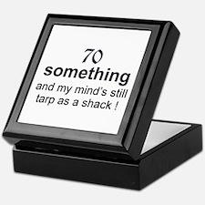 70 Something Keepsake Box