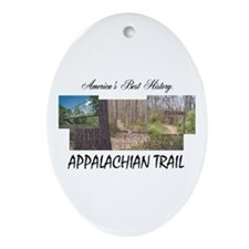 Appalachian Trail Americabesthistory Oval Ornament