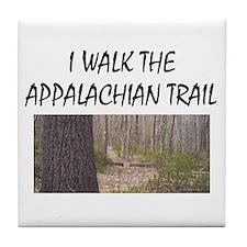 Appalachian Trail Americasbesthistory Tile Coaster