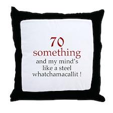 70...Whatchamacallit Throw Pillow