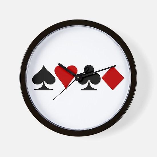 Poker! Wall Clock