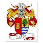 Baños Coat of Arms Small Poster