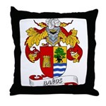Baños Coat of Arms Throw Pillow