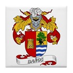Baños Coat of Arms Tile Coaster
