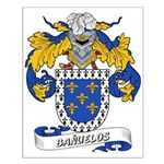 Bañuelos Coat of Arms Small Poster