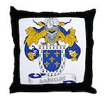 Bañuelos Coat of Arms Throw Pillow