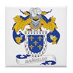 Bañuelos Coat of Arms Tile Coaster