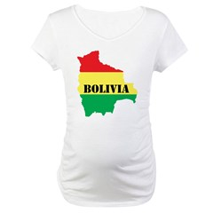 Map Of Bolivia Shirt