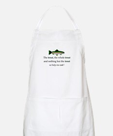 Trout Fishing BBQ Apron