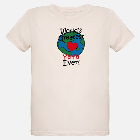 World's Greatest YaYa T-Shirt