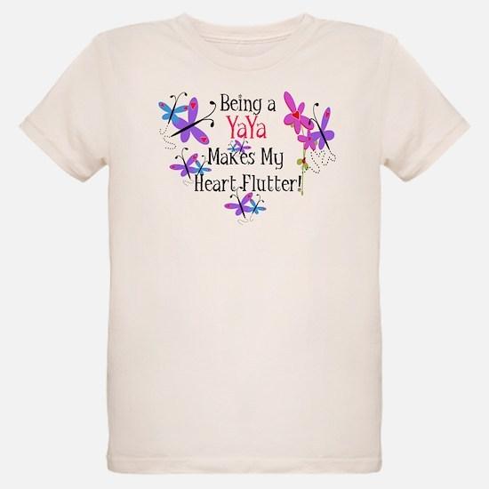 YaYa Heart Flutter T-Shirt