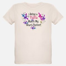 YiaYia Heart Flutter T-Shirt