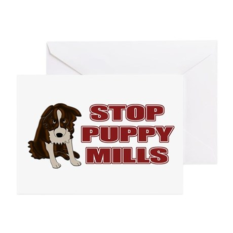 Stop Puppy Mills Greeting Cards (Pk of 20)