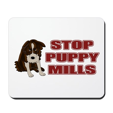 Stop Puppy Mills Mousepad