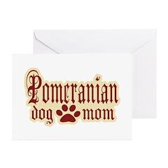 Pomeranian Mom Greeting Cards (Pk of 20)