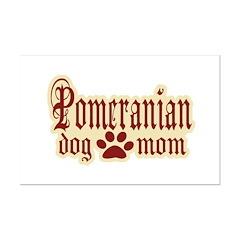Pomeranian Mom Posters