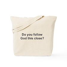 Following God Tote Bag