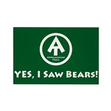 "At ""Yes, I Saw Bears"" Rectangle Magnet M"