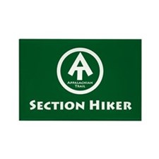 "At ""Section Hiker"" Rectangle Magnet Magn"