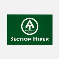 "At ""Section Hiker"" Rectangle Magnet Magn"