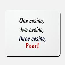 1,2,3 Casino Mousepad