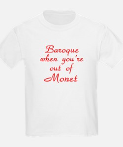 Baroque-Monet-Red T-Shirt