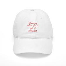 Baroque-Monet-Red Baseball Cap