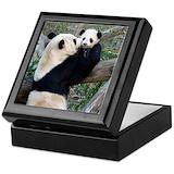 Giant pandas Keepsake Boxes