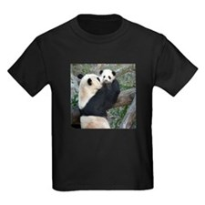 Mom & Baby Giant Pandas T