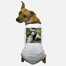 Mom & Baby Giant Pandas Dog T-Shirt