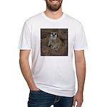 Meerkats Fitted T-Shirt
