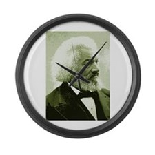 Frederick Douglass Large Wall Clock