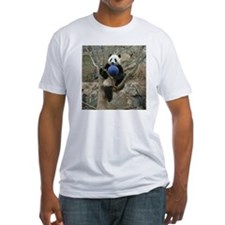 Giant Panda Fitted T-Shirt