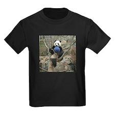 Giant Panda Kids Dark T-Shirt