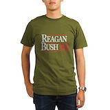 Reagan bush 84 Organic Men's T-Shirt (dark)