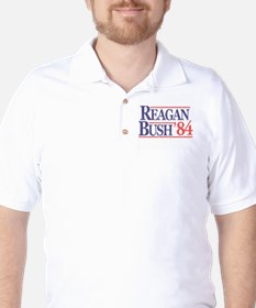 Reagan Bush '84 Golf Shirt