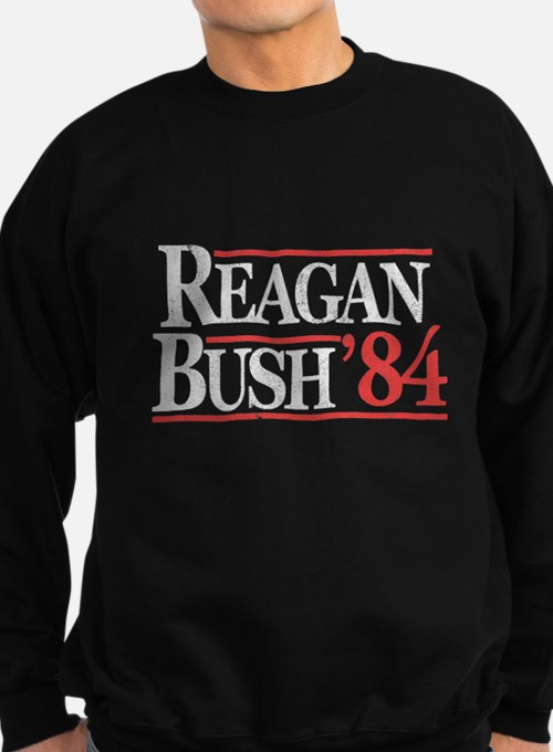 Reagan Bush '84 Sweatshirt