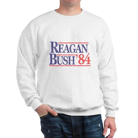 Cafepress - Reagan Bush 1984 - Sweatshirt