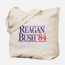 Reagan Bush '84 Tote Bag