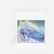 Funny Pony tale Greeting Card