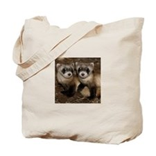 Black-footed Ferrets Tote Bag